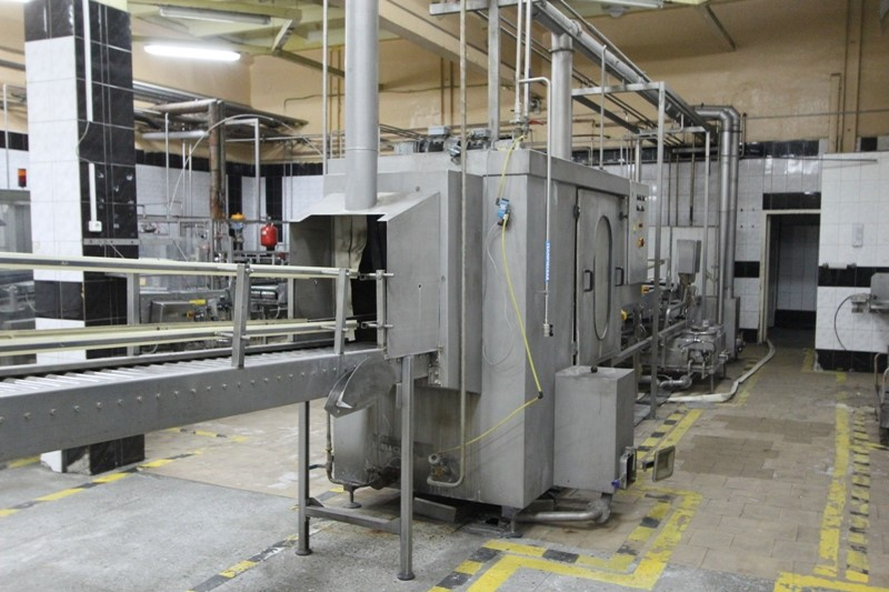 KHS Beer KEG Filling Line 60 KEG/h - 30 and 50 ltr kegs, washing and filling with CO2 flushing