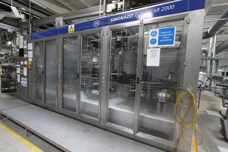 Glass Bottle Filling Line 55.000 bph - Krones and SIG Simonazzi with BWM