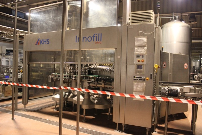 Glass Bottle Filler 50.000 bph - KHS Innofill DMG / SVF 120/16