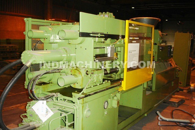Injection Molding Machine PE and PVC - Demag DNC II 175