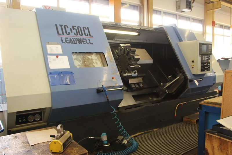LEADWELL  - LTC-50 CL CNC Inclined Bed Lathe