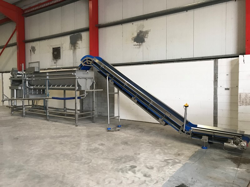 The latest machine from Vegetable Processing