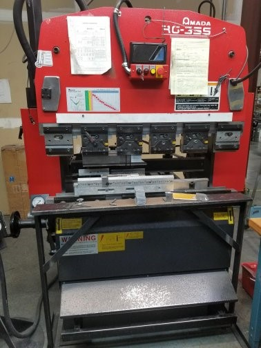 The latest machine from Press Brake - Downstroke