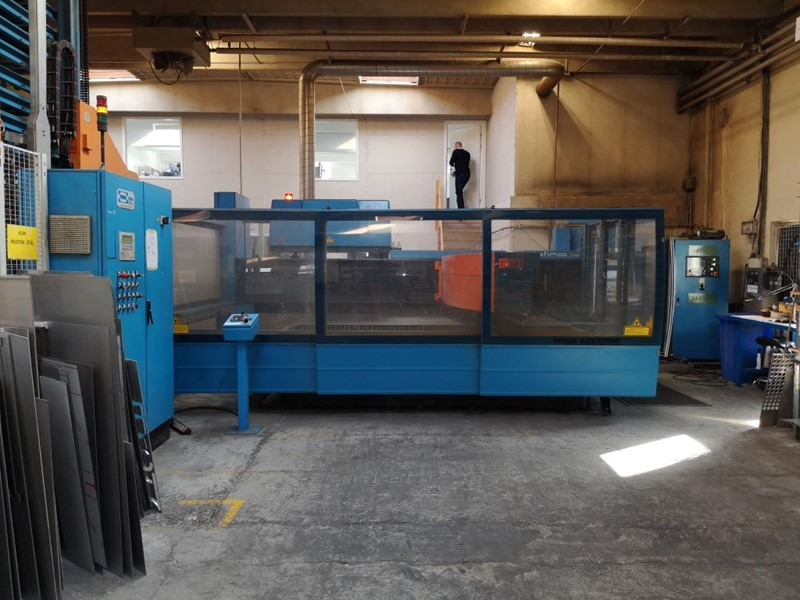 The latest machine from Laser - Flat Bed