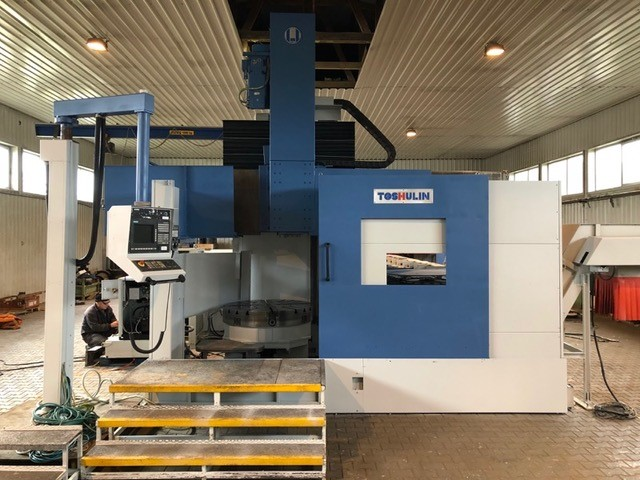The latest machine from Lathe - Vertical
