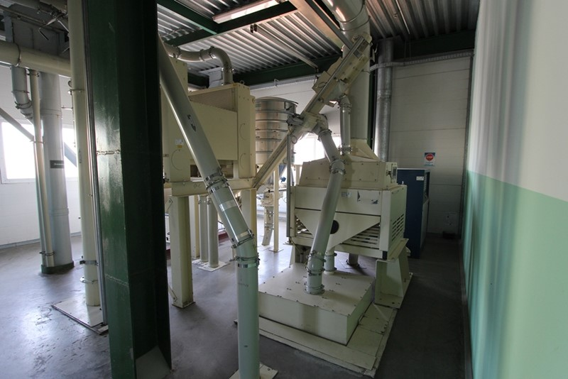Malt and Grist/Rice reception and cleaning - Kunzel, 20 ton/h malt, 10 ton/h rice