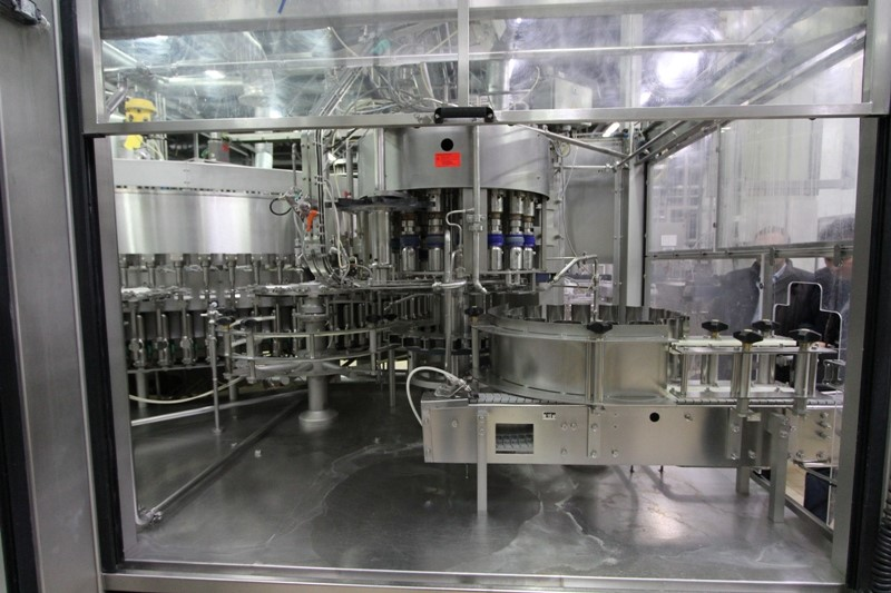 PET Bottle Filling Line for Beer and CSD - Krones, 22 000 bph with mixer