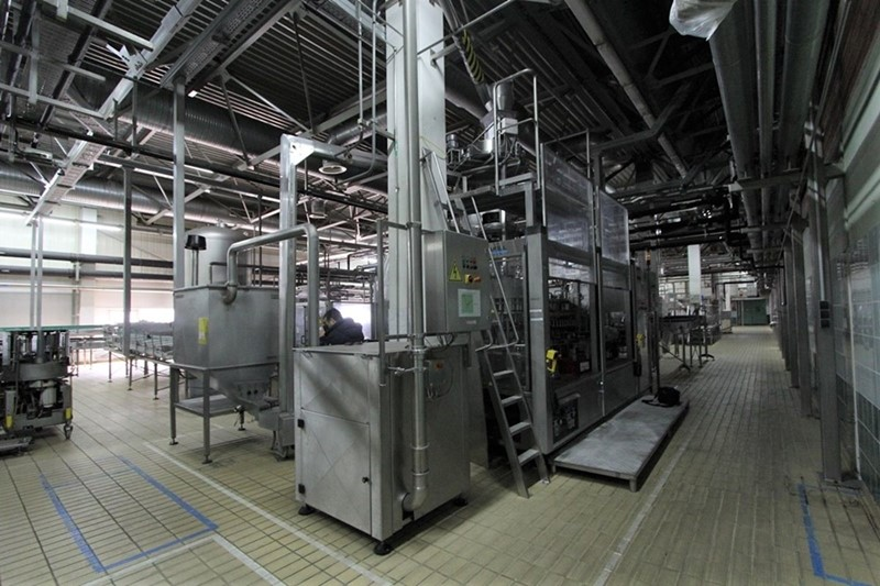 Glass Bottle Filling Line 55000 bph - Krones with Bottle Washer