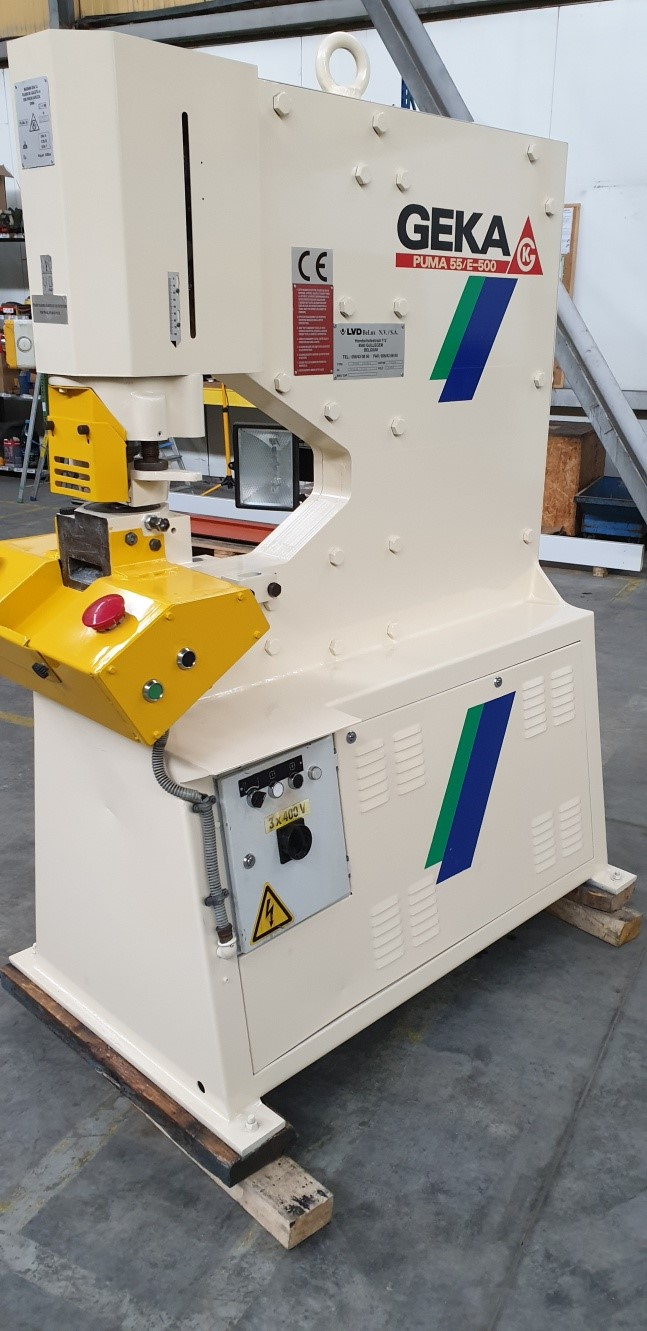 The latest machine from Iron Worker - Hydraulic