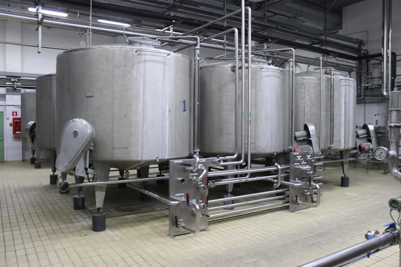 Syrup Room with Water Treatment - Complete plant for 220 hl/h product