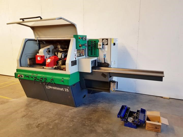 The latest machine from Planer / Moulder