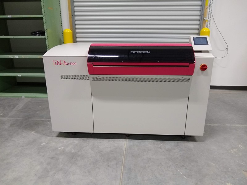 Screen - PT-R4100 Thermal Platesetter