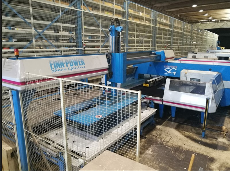 The latest machine from Plates & Angles - Punching / Shearing