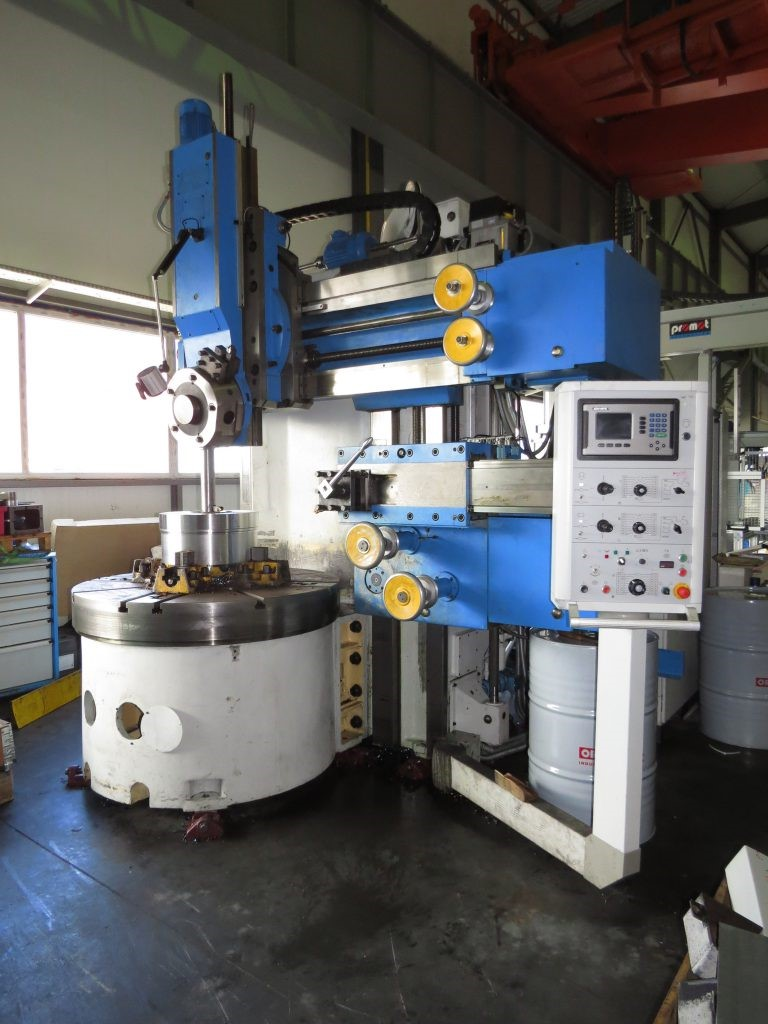 The latest machine from Lathe - Vertical Turret Type