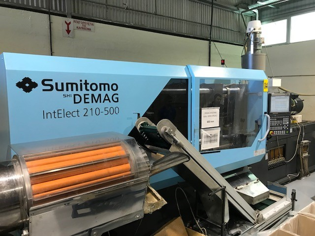 SUMITOMO shi DEMAG - IntElect 580-500