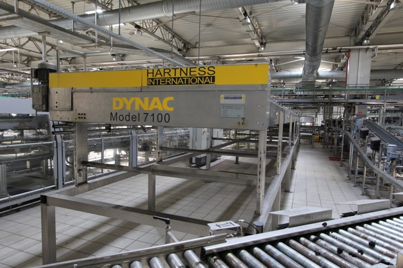 Accumulation Table Hardness - Dynac 7100