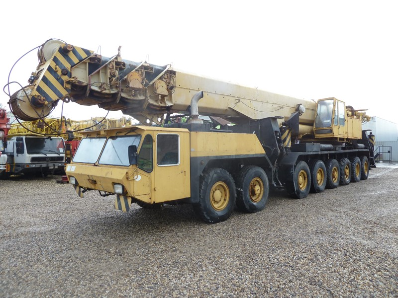 The latest machine from Cranes