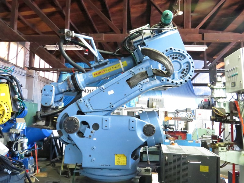 The latest machine from Robots - Welding