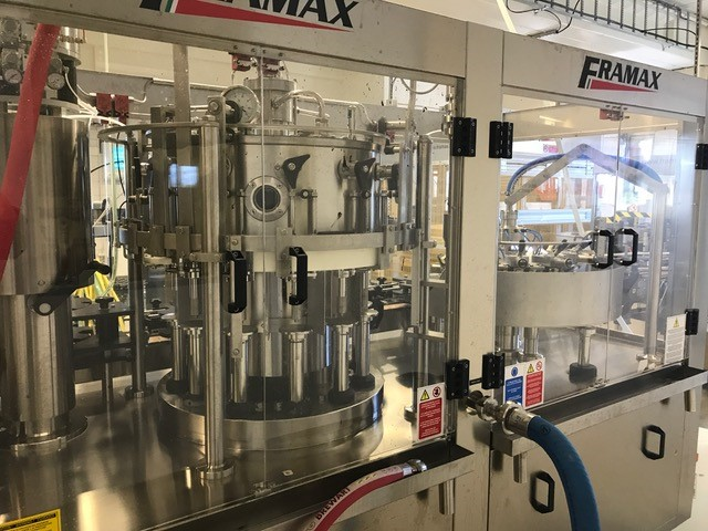 Glass Bottle Filling Line - 2500 bph for beer, one way