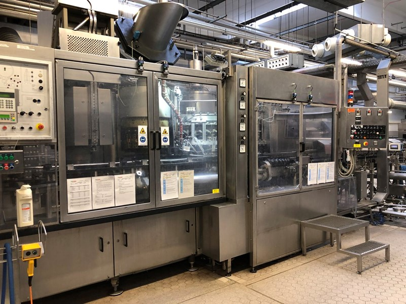 Complete Glass Filling Line - new and returnable, 20 000 bph