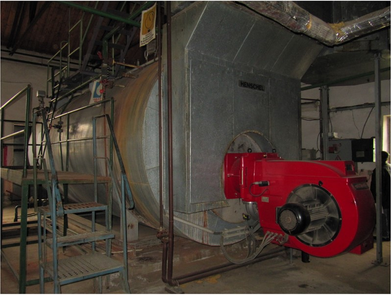 STEAM BOILER THYSSEN HENSCHEL GERMANY - GK/R-10000-13S