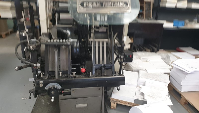 The latest machine from Letterpress
