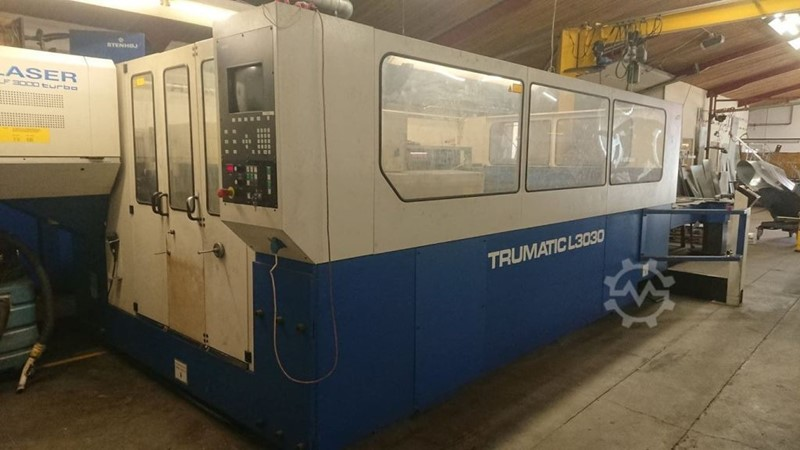 Trumpf laser cutting machine -  L 3030- TLF 3000 w