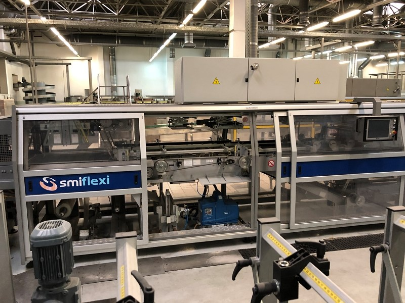 Tray Shrink Wrapping Machine - SMI Flexi LSK 25 T, 34500 bph