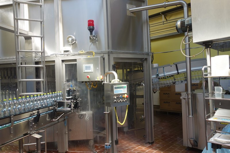 Filling Line SIDEL 14000 bph PET - 1.5 and 2.0 ltr, CSD and non-carbonated