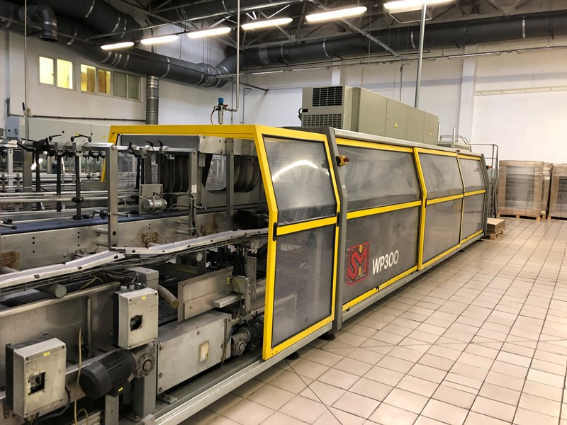 Wrap Around Case Packer - SMI WP 30, 30 packs/min