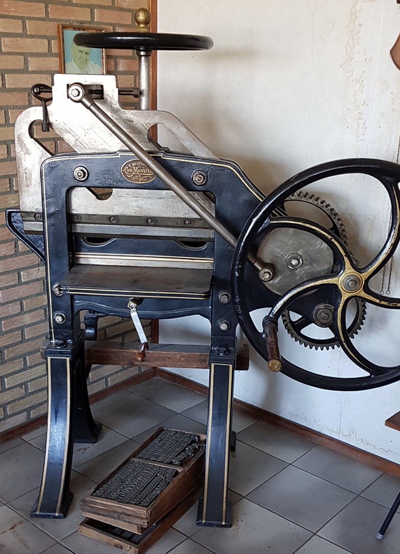 The latest machine from Guillotines
