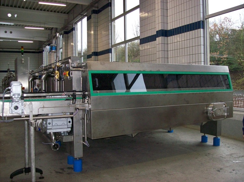 Tunnel Pasteurizer ESV Spennes - glass jars 12 000 cont/h