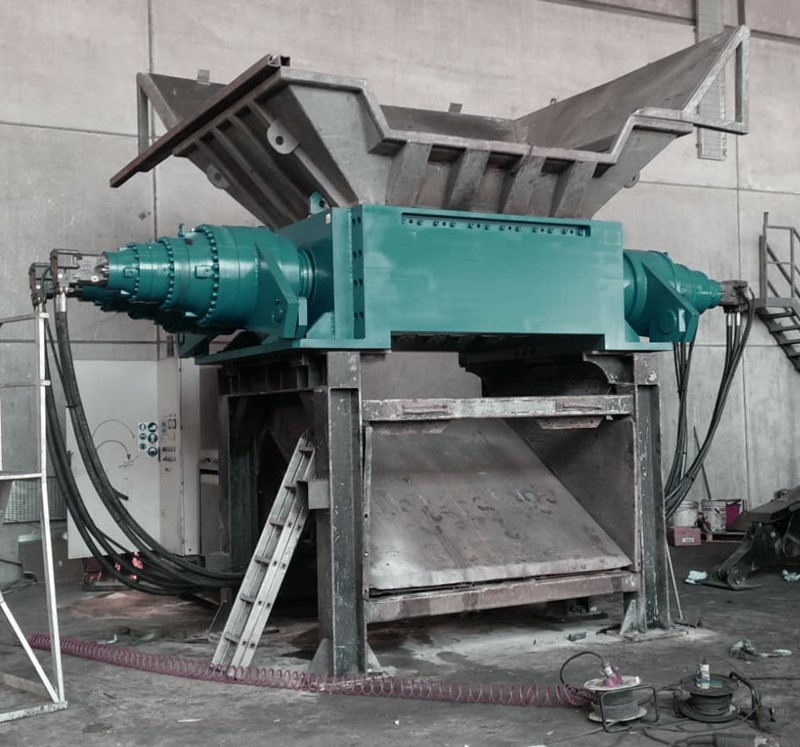 GERMANPLAST - 1800 mm metal shredder