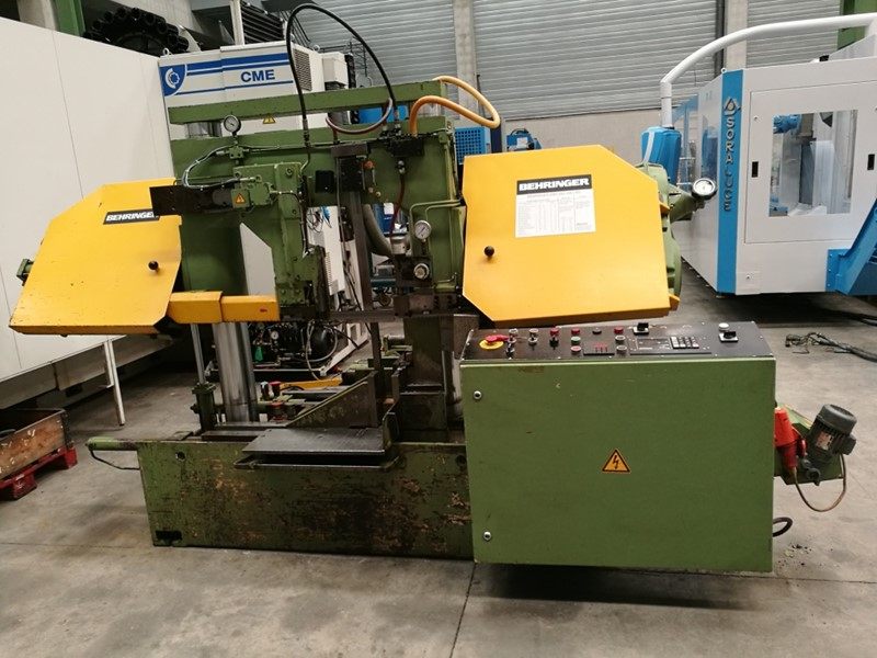 The latest machine from Saw - Bandsaw Horizontal