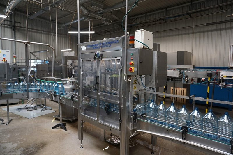 Filling Line for Still Water 5 L - PET 1400 bph