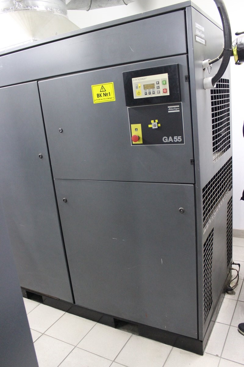 Air Compressor 10 bar, 8.7 m3/min - Atlas Copco GA55