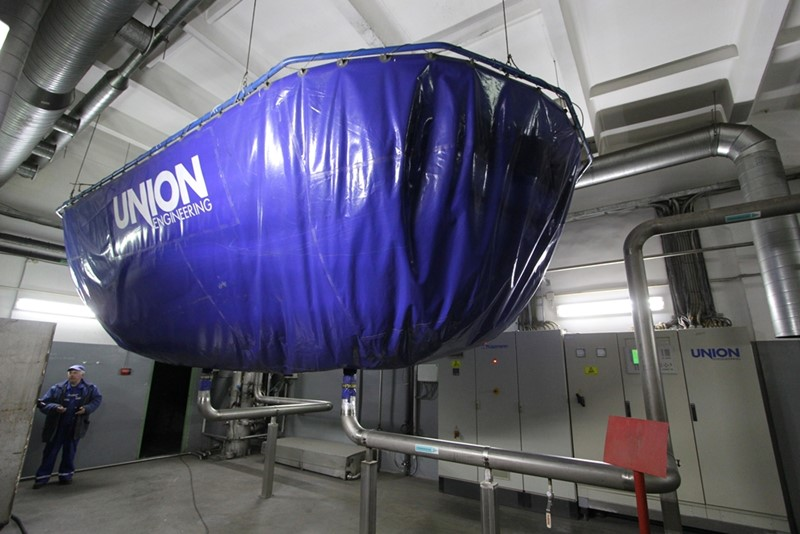 CO2 Recovery from fermenting - Union Engineering 2 x 500 kg/h