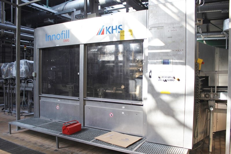 Filling Line KHS 50 000 bph - 0.3-0.5 ltr Glass, new and returnable