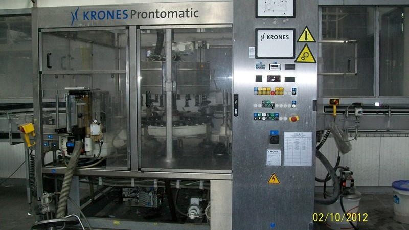Labeling Machine Krones - Prontomatic 28 000 bph