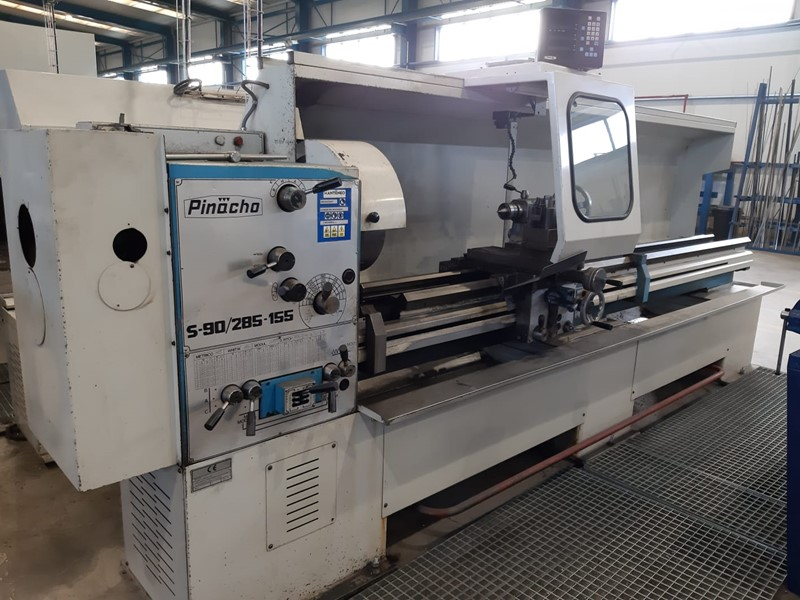 The latest machine from Lathe - Gap Bed