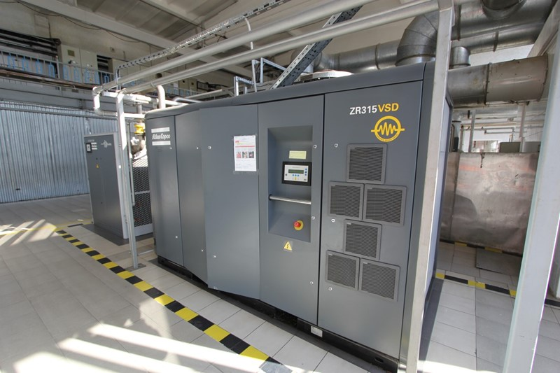 2006 - Oil Free Air Compressor - Atlas Copco ZR 315 VSD