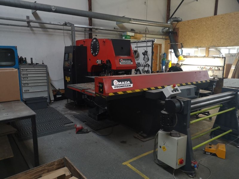 Amada turret punching machine  - Aries 245