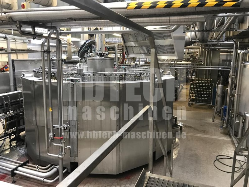 KHS - Glass bottle line for still and carbonated products