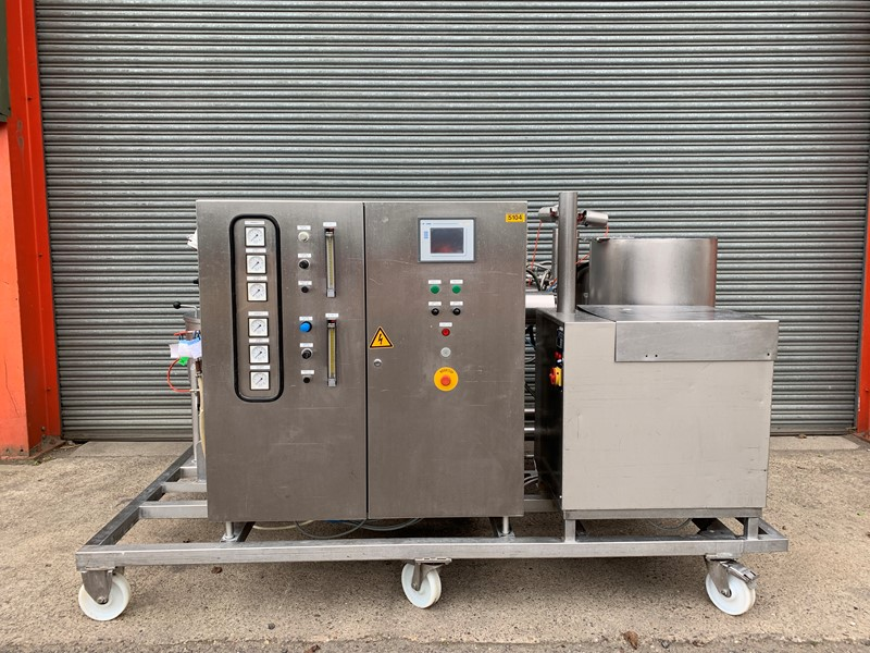 The latest machine from Confectionery Equipment