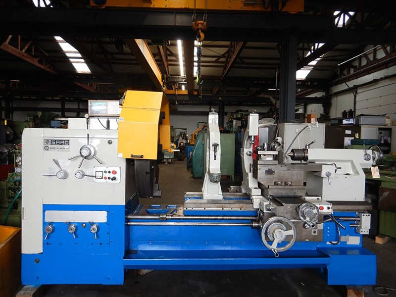 The latest machine from Lathe - Straight Bed