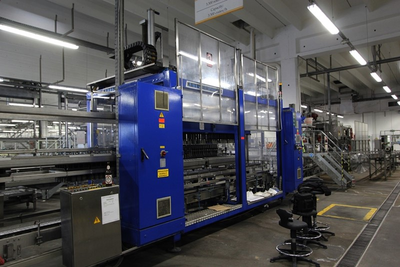 Glass Bottle Filling Line Krones  - 55 000 bph for returnable bottles