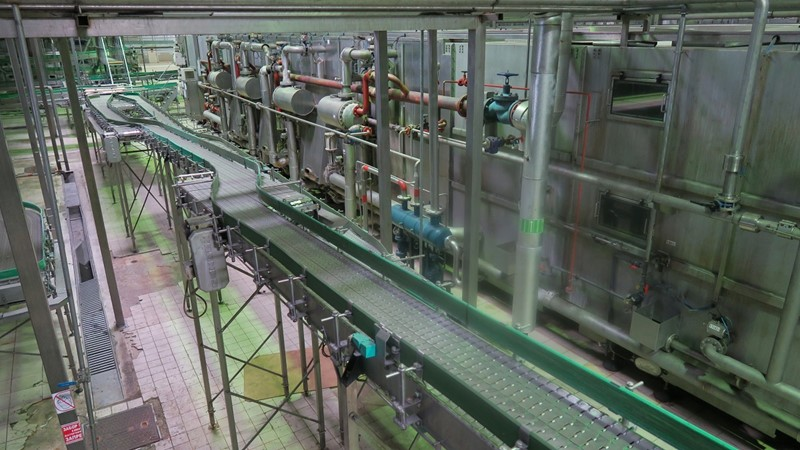 Tunnel Pasteurizer for Glass Bottles - Krones-Zierk K570-130, 55.000 bph