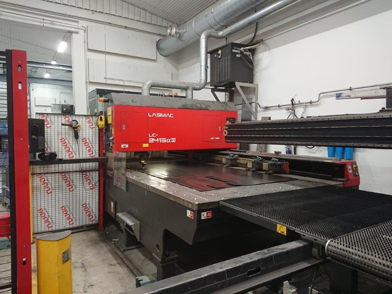 Amada laser cutting machine -  Lasmac-LC 2415 III
