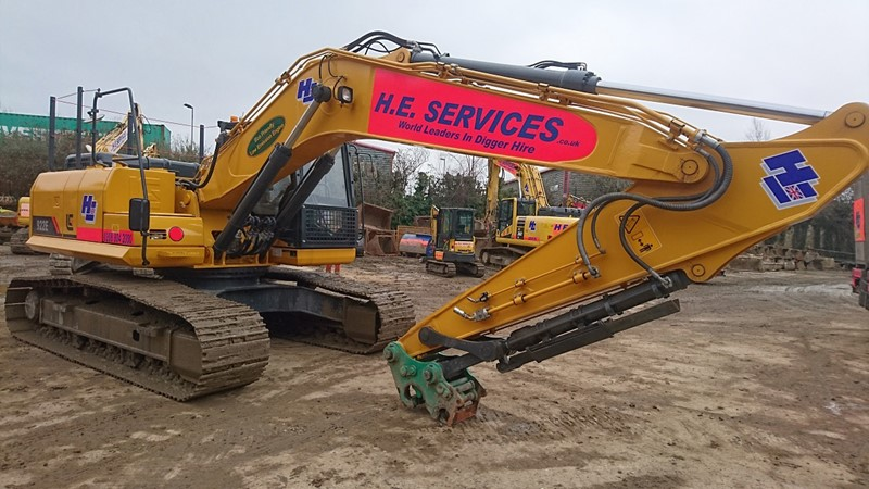 The latest machine from Excavators
