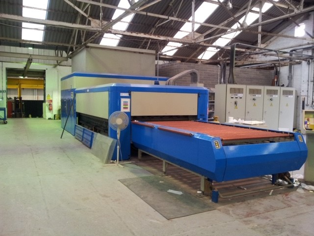 The latest machine from Tempering Furnaces